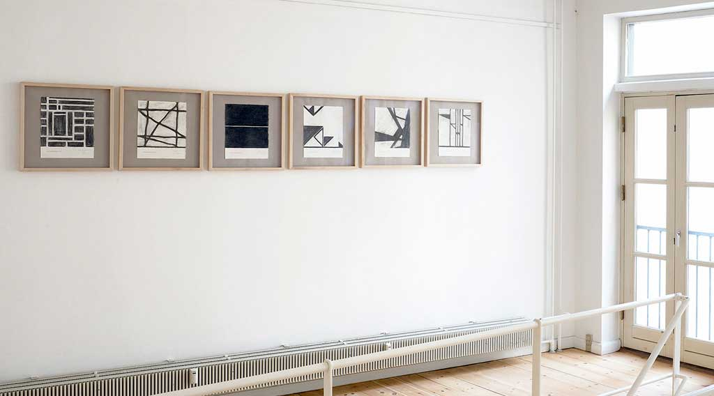 michael baastrup chang installation view